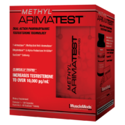 MUSCLEMEDS - METHYL ARIMATEST - 180 DB