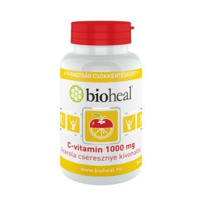 BIOHEAL C-VITAMIN 1000MG ACEROLA CSERESZNYE KIVONATTAL - 70 DB