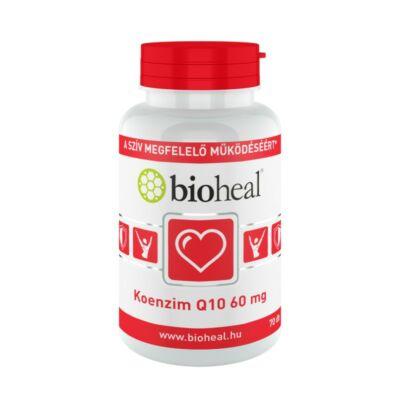 BIOHEAL KOENZIM Q10 60MG SZELÉNNEL E-VITAMINNAL ÉS B1-VITAMINNAL - 70 DB