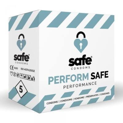 SAFE - CONDOMS ORGASM DELAYING - PERFORMANCE - 5 DB