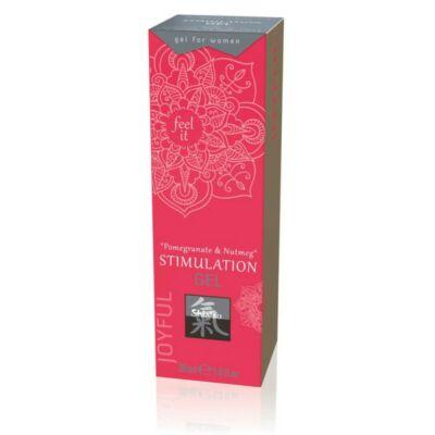 SHIATSU STIMULATION GEL FOR WOMEN POMAGRANTE & NUTMEG - 30 ML