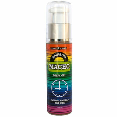 RAINBOW MACHO - DELAY GEL FOR MEN - 50 ML
