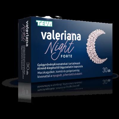 VALERIANA NIGHT FORTE KAPSZULA 30DB