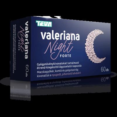 VALERIANA NIGHT FORTE KAPSZULA 60DB