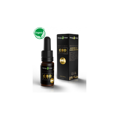 PHARMAHEMP PREMIUM BLACK CBD OLAJ 24 % - 10 ML