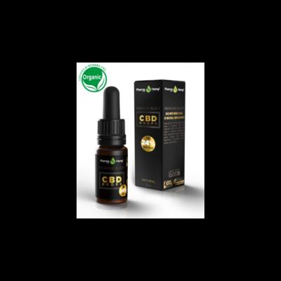PHARMAHEMP PREMIUM BLACK CBD OLAJ 24 % - 10 ML
