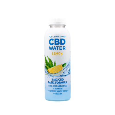 AIDVIAN FULL SPECTRUM CBD WATER LEMON 3 MG - 500 ML