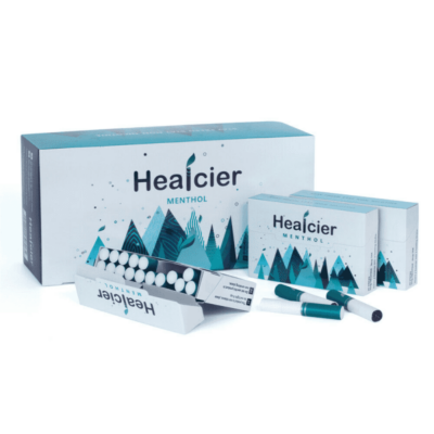HEALCIER – MENTOL 7.0 NIKOTINMENTES HEVÍTŐRÚD - 10 DOBOZ