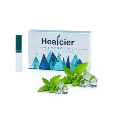 HEALCIER – MENTOL 7.0 NIKOTINMENTES HEVÍTŐRÚD - 1 DOBOZ