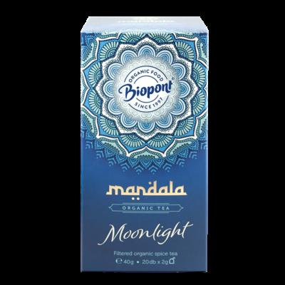 MANDALA BIO FILTERES TEA MOONLIGHT - 20 FILTER