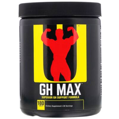 UNIVERSAL NUTRITION GH MAX - 180 DB