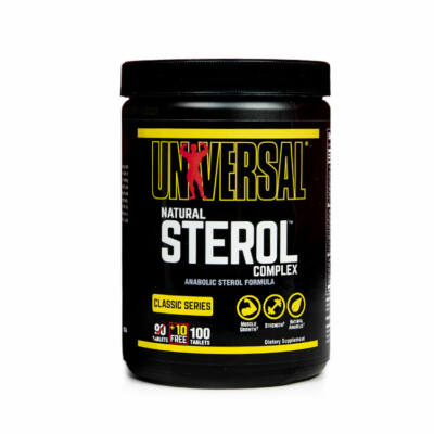 UNIVERSAL NUTRITION NATURAL STEROL COMPLEX - 90 DB