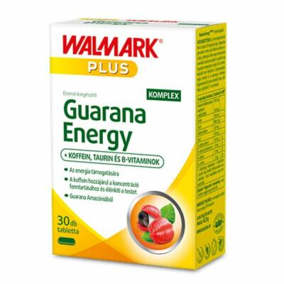 WALMARK PLUS GUARANA ENERGY KOMPEX TABLETTA - 30 DB