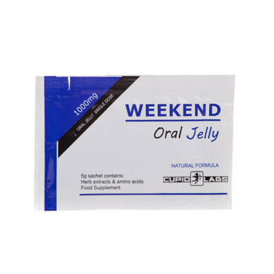 WEEKEND ORAL JELLY - 1 DB