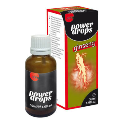POWER GINSENG DROPS FOR MEN - 30 ML