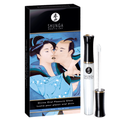 SHUNGA COCONUT ORAL PLEASURE GLOSS - 10,5 ML
