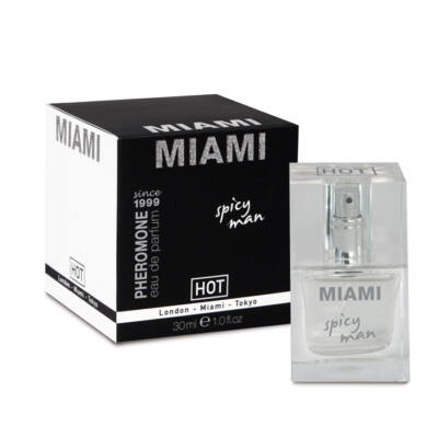 HOT PHEROMON PARFUM MIAMI SPICY MAN - 30 ML