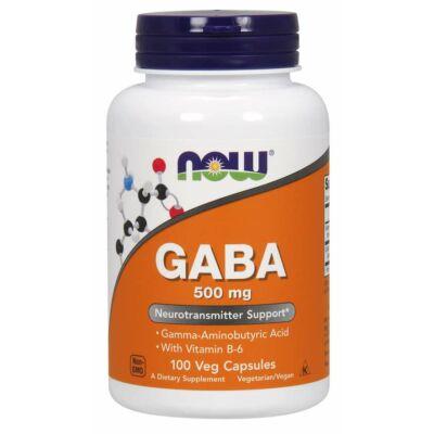 NOW GABA 500 MG - 100 DB