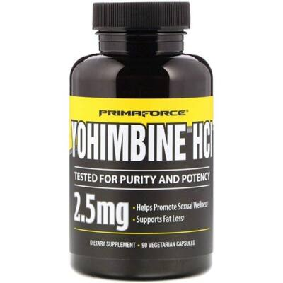 PRIMAFORCE YOHIMBINE HCL - 90 DB
