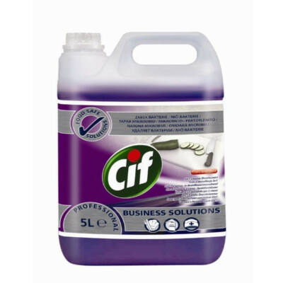 CIF PROFESSIONAL 2 IN 1 CLEANER DISINFECTANT - 5 L