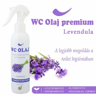 WC OLAJ PRÉMIUM LEVENDULA - 200 ML