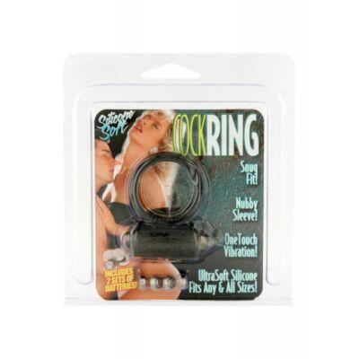 MINI VIBRATING COCKRING BLACK