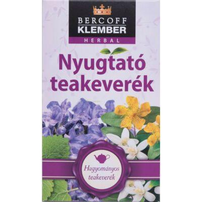 KLEMBER NYUGTATÓ TEAKEVERÉK 20 FILTER