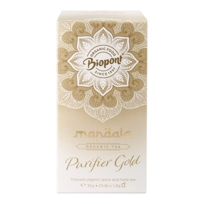 MANDALA BIO FILTERES TEA PURIFER GOLD 20 FILTER