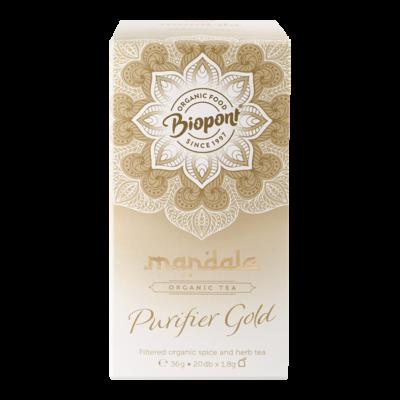 MANDALA BIO FILTERES TEA PURIFER GOLD 20 FILTER