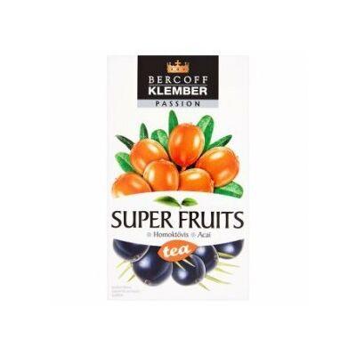 KLEMBER SUPER FRUIT TEA HOMOKTÖVIS-ACAI 20 FILTER