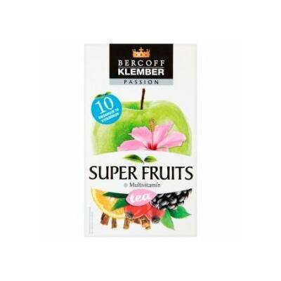 KLEMBER SUPER FRUIT TEA MULTIVITAMIN 20 FILTER