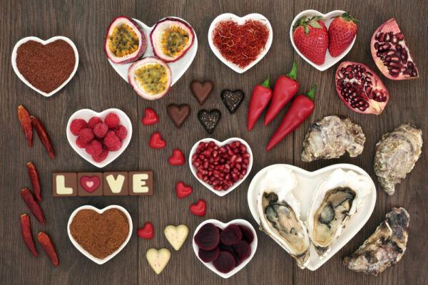 vágyfokozó ételek